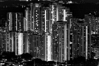 Nightscape in Black and White (SINGAPORE)